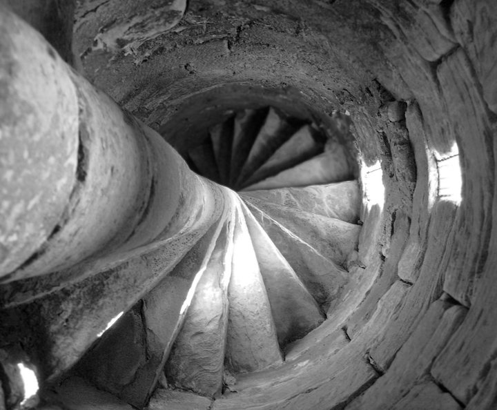 Inchcolm Abbey Spiral Staircase