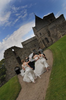 inchcolm wedding 1